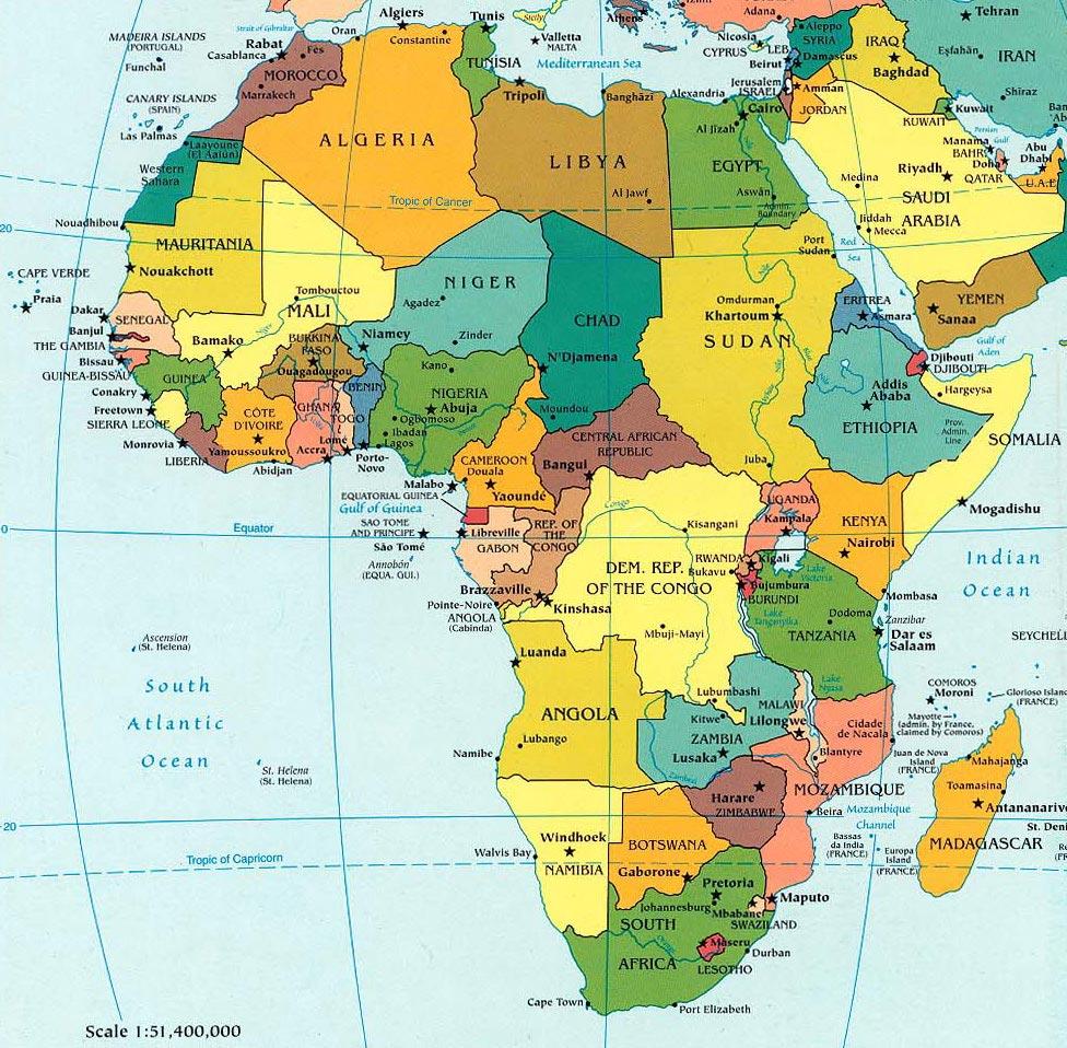 Cartina Politica Africa In Italiano.Uscire Dalla Poverta Casa Africa